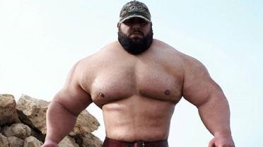 Sajad Gharibi, czyli 'Irański Hulk'