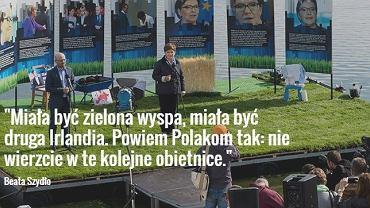 Wiceprezes PiS Beata Szydło