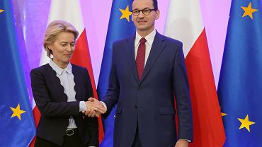 Ursula von der Leyen, Mateusz Morawiecki