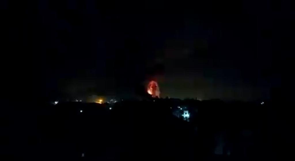 Atak rakietowy na Strefę Gazy