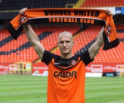 Jarosław Fojut ostatni rok spędził w Dundee United