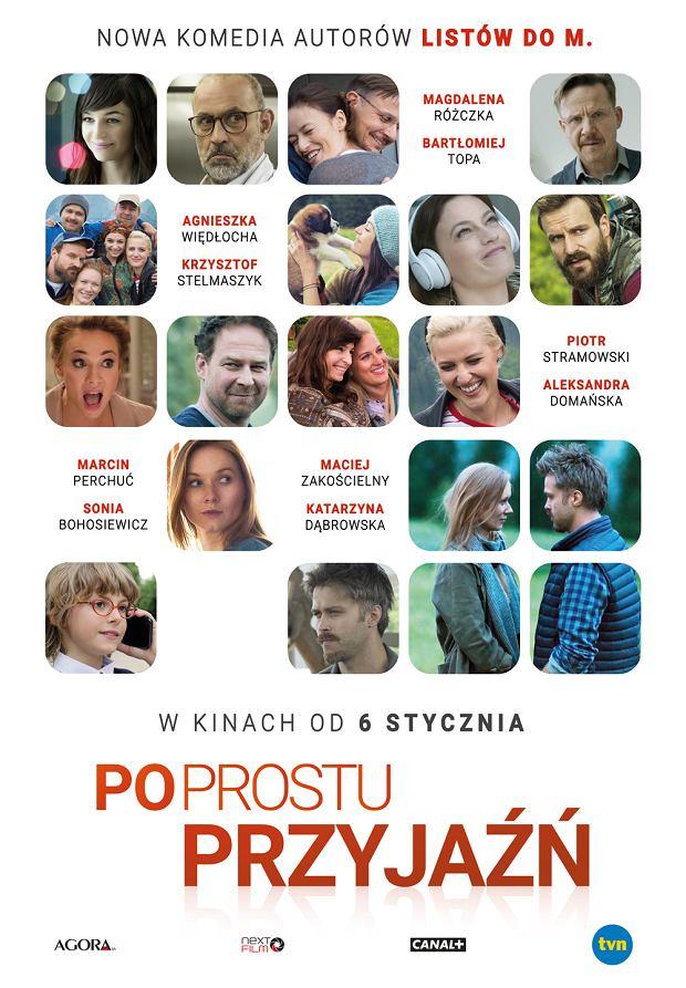 Plakat filmu 'Po prostu przyjaźń'