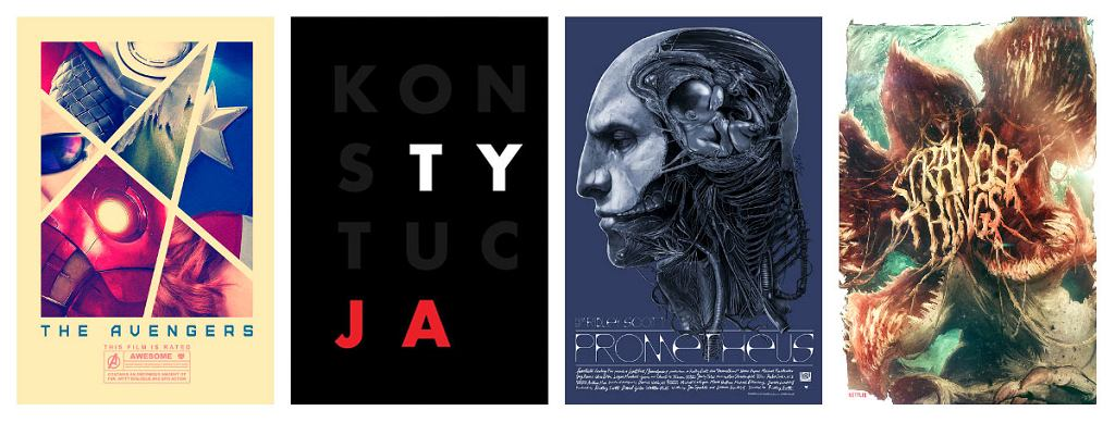 Plakaty polskich artystów.