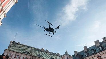 Drony pomogą w walce ze smogiem (zdj. ilustracyjne)