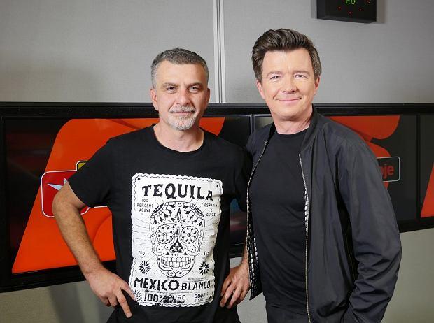Tomek Brhel i Rick Astley