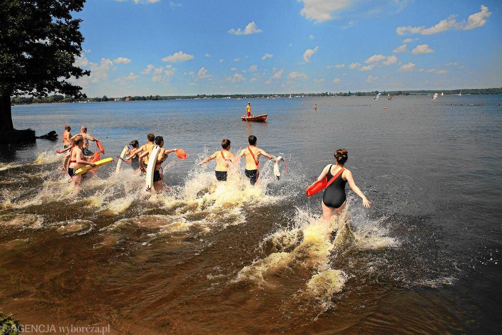 Kąpielisko w Nieporęcie nad Zalewem Zegrzyńskim