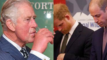 Książę Karol jest zły na synów