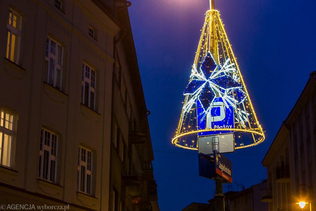Boże Narodzenie. Iluminacje świąteczne w Rzeszowie