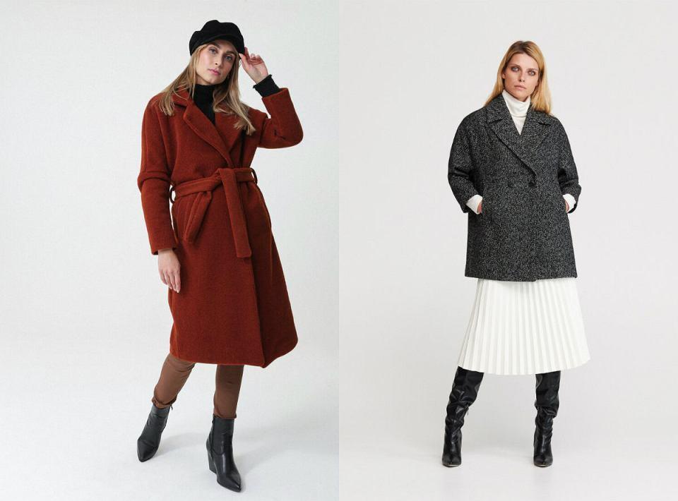 płaszcze zimowe dla puszystych pań