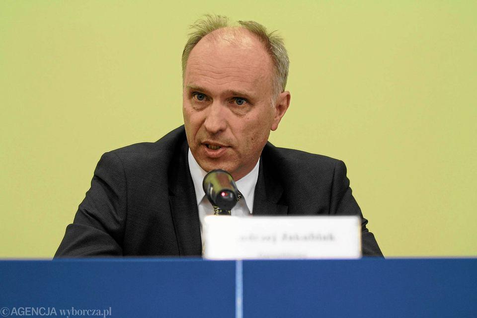 Przewodniczący KNF Andrzej Jakubiak