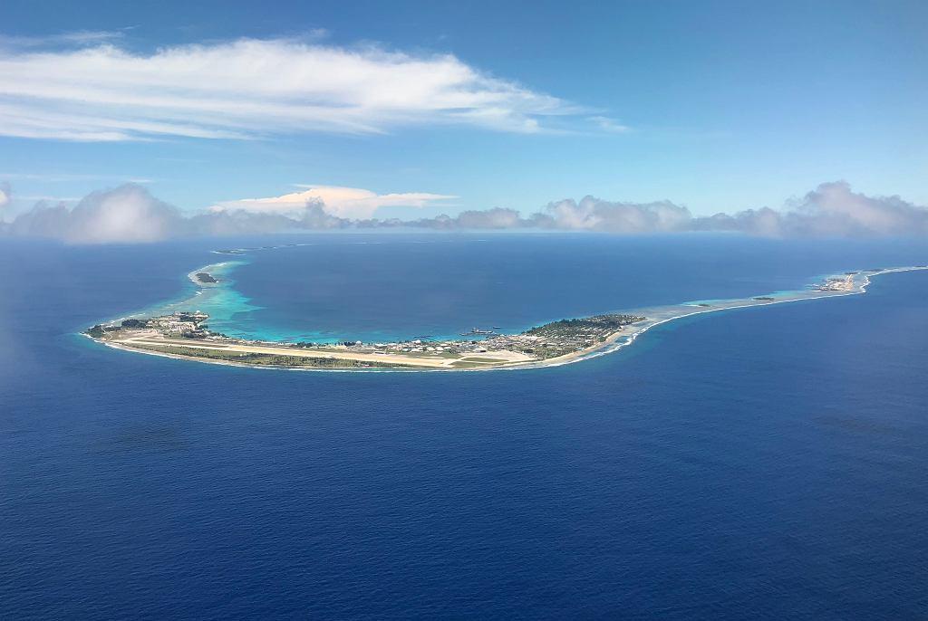 Atol Kwajalein, Wyspy Marshalla.