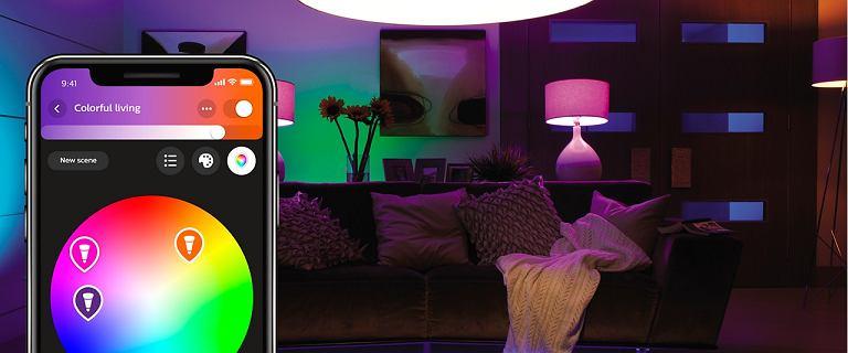Smart oświetlenie w twoim domu - poznaj produkty z rodziny Philips Hue