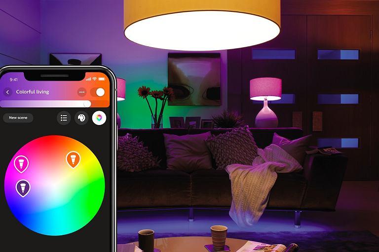 Smart oświetlenie Philips Hue