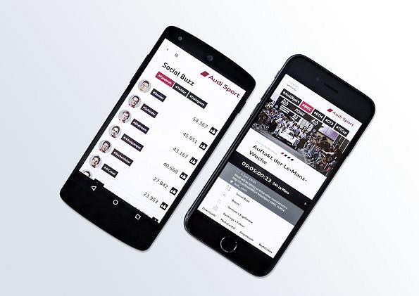 Aplikacja Audi Sport