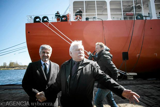 Sześć lat budowy i w końcu chrzest statku. Czy kryzys na Ukrainie rozłoży Stocznię Gdańsk?