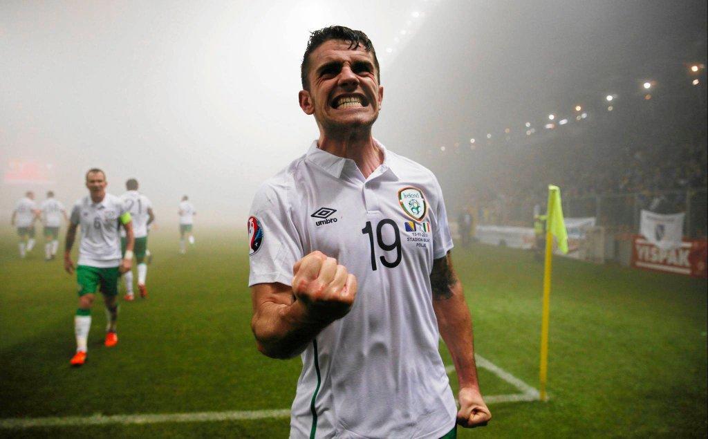 Robbie Brady. Irlandia - Bośnia i Hercegowina
