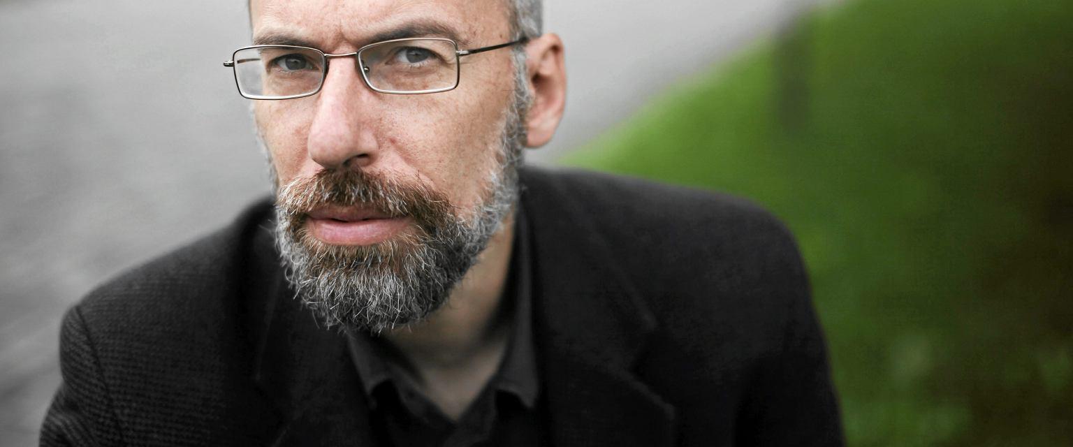 Paweł Jochym, współzałożyciel polskiej wersji Wikipedii (fot. Michał Łepecki / Agencja Gazeta)