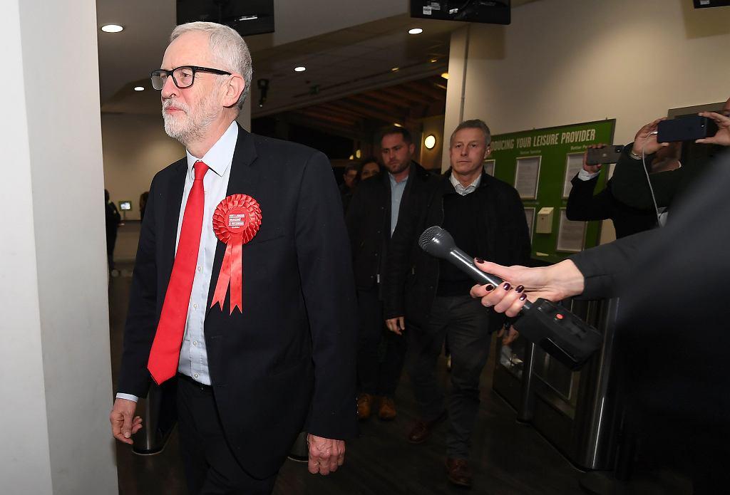 Brexit. W wyborach w Wielkiej Brytanii Partia Pracy Jeremy'ego Corbyna (na zdjęciu), przegrała z Partią Konserwatywną Borisa Johnsona.