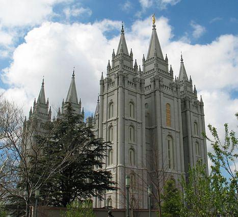 Główny kościół mormonów w amerykańskim Salt Lake City