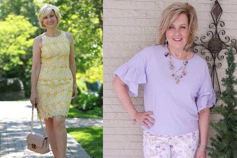 2e3553516690ed Pastelowe ubrania dla dojrzałych kobiet - na co dzień i na.