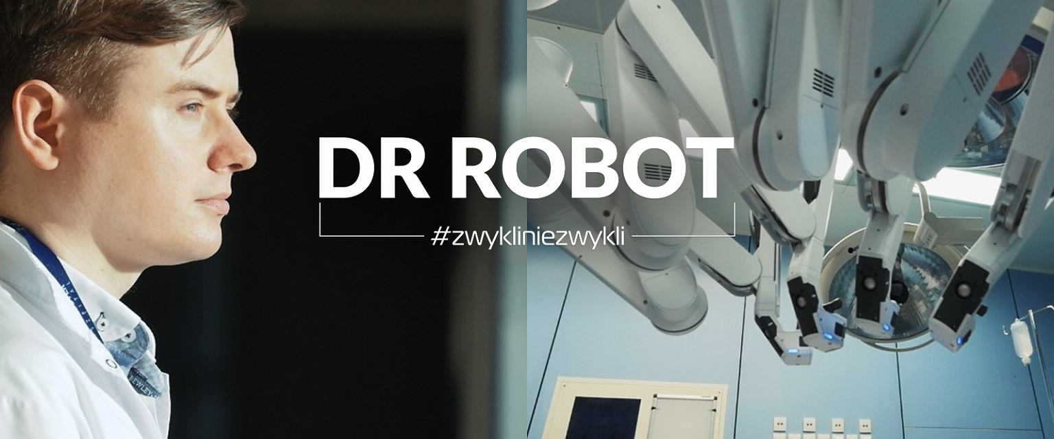 Dr Paweł Salwa - najbardziej doświadczony operator robota medycznego da Vinci w Polsce (fot. Gazeta.pl)