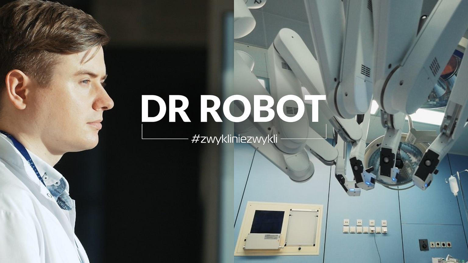 Dr Paweł Salwa - najbardziej doświadczony operator robota medycznego da Vinci w Polsce