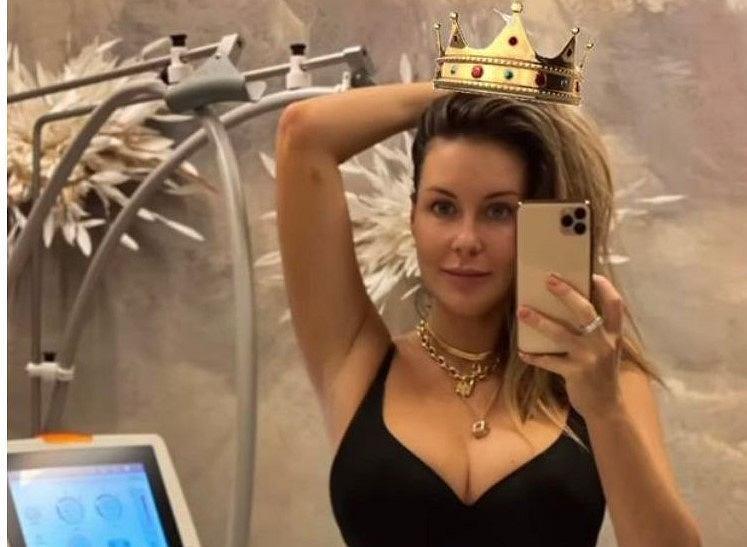 Małgorzata Rozenek, screenshot, instagram