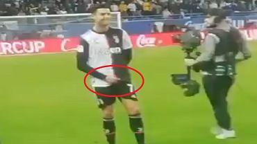 Cristiano Ronaldo i jego wulgarny gest