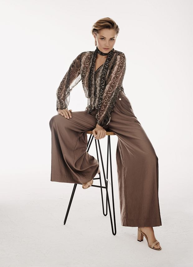 Małgorzata Socha w kampanii Monnari wiosna-lato 2019