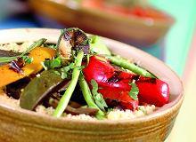 Kuskus z grillowanymi warzywami - ugotuj