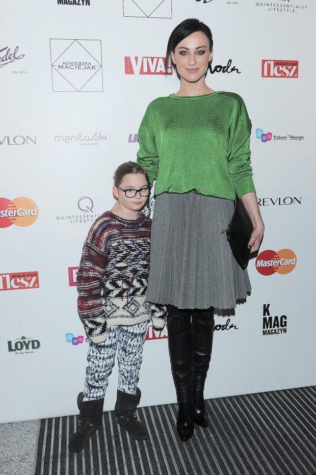 Maja Hirsch z córką