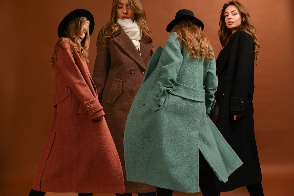 Klasyczne płaszcze z wełną