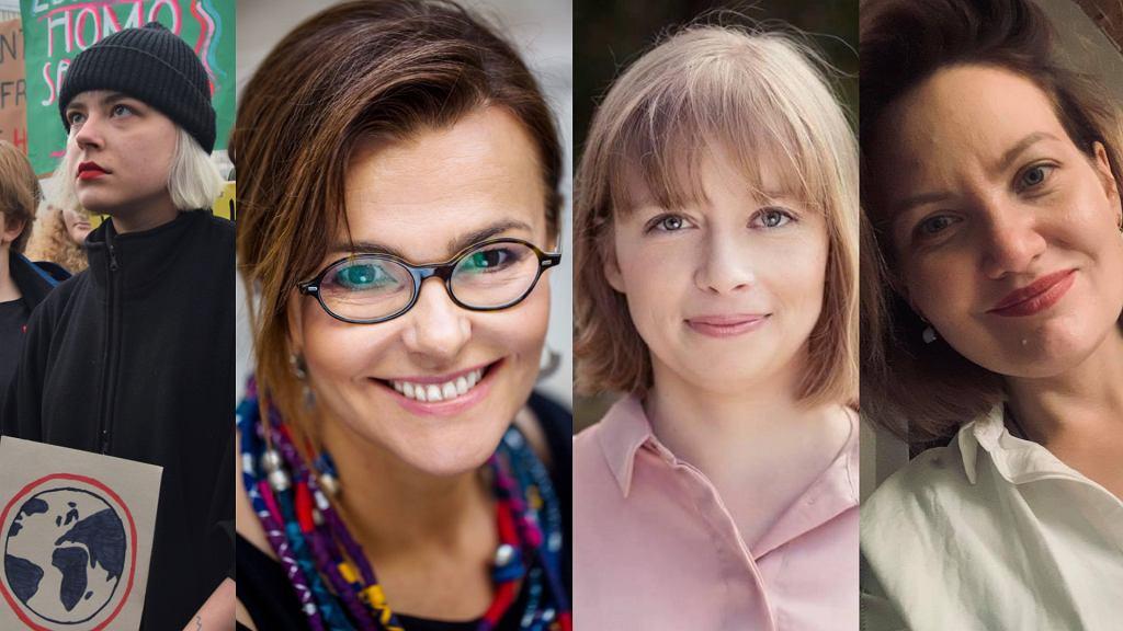 od lewej: Julia Święch (fot. Pamela Palma Zapata), Agnieszka Kręglicka (fot. Magda Klimczak), Justyna Drath (archiwum prywatne), Anna Mazur (archiwum prywatne)
