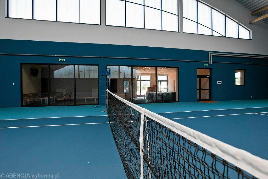 Nowa hala tenisowa na Zawiszy