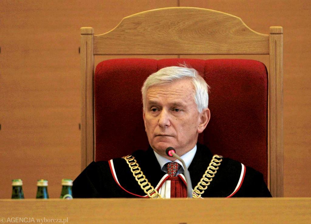 Sędzia Trybunału Konstytucyjnego w stanie spoczynku prof. Bohdan Zdziennicki