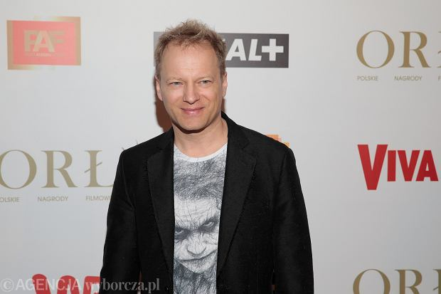 Maciej Stuhr podczas uroczystości przyznania Polskich Nagród Filmowych Orły 2019.