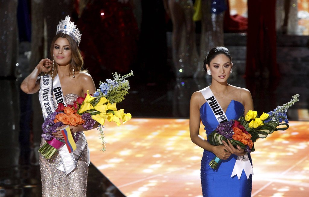 Miss Kolumbii i Miss Filipin