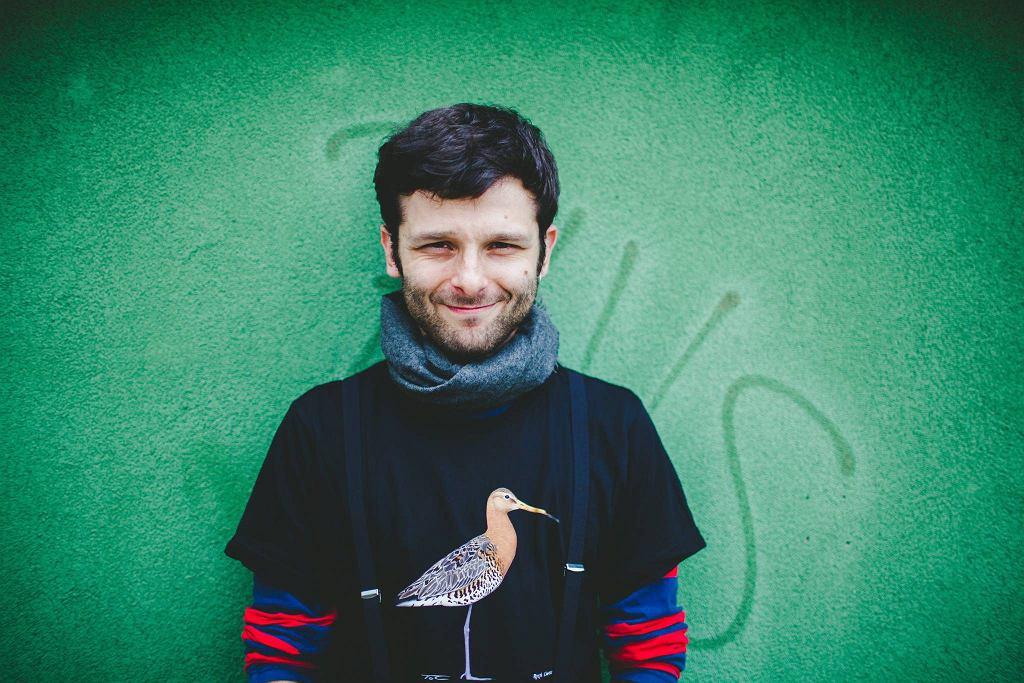 Pisarz i ornitolog Stanisław Łubieński / ALBERT ZAWADA
