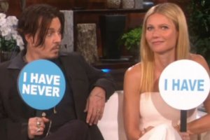 Johnny Depp i Gwyneth Paltrow
