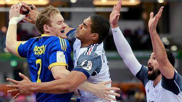 Magnus Persson (z lewej) strzelił Francuzom trzy bramki