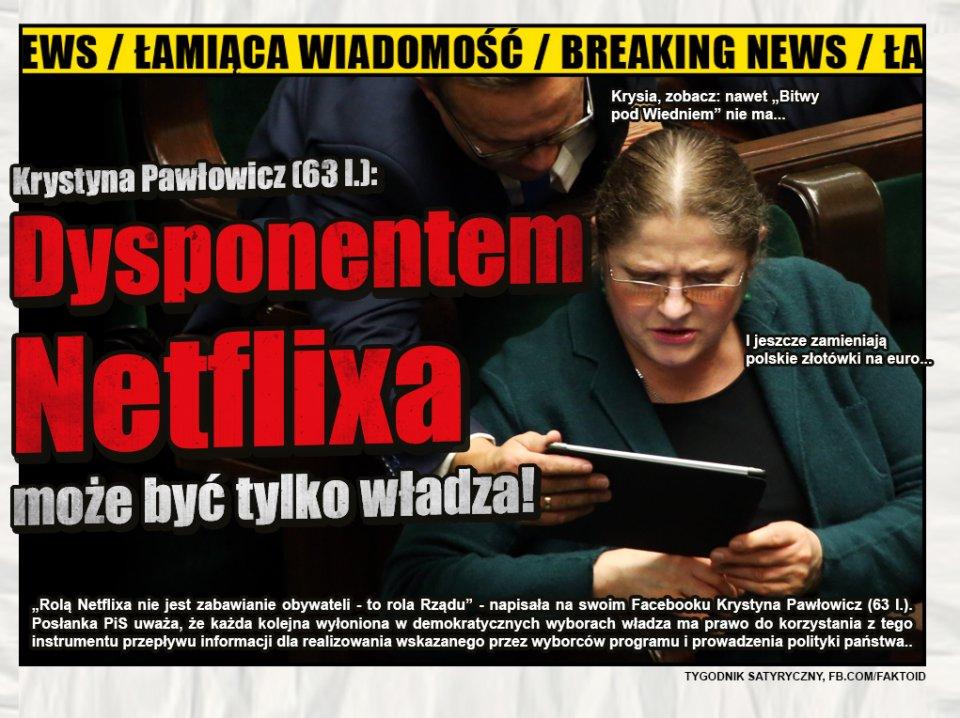 Pawłowicz o Netflixie [Faktoid] -