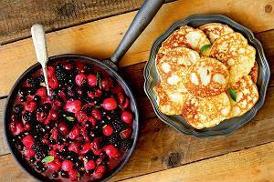 Z polskiego ogrodu - małdrzyki z owocami i pieczone jabłka