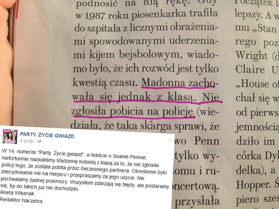 Fragment z artykułu w
