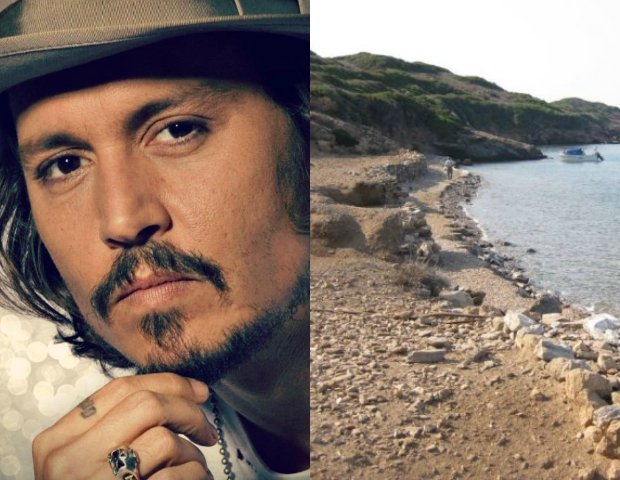 Johnny Depp kupił grecką wyspę za 4,2 mln euro. Pitt i Jolie też mają ochotę na jedną