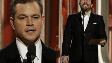 Matt Damon i Ricky Gervais