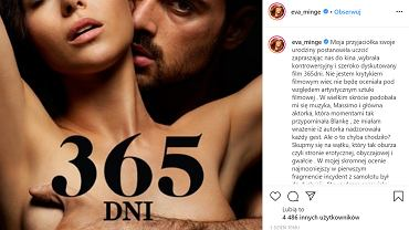 Ewa Minge szczerze o filmie '365 dni'