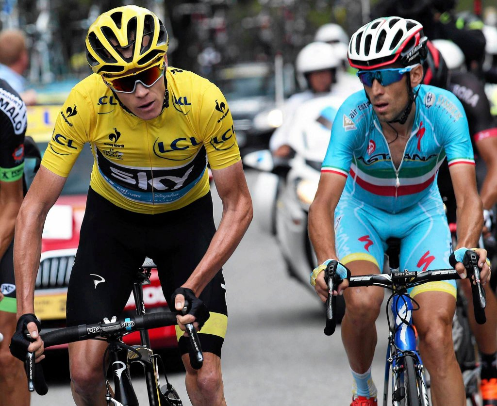Chris Froome i Vincenzo Nibali
