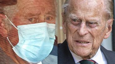 Książę Karol odwiedził księcia Filipa w szpitalu