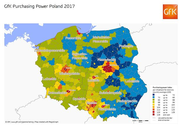 GfK Purchasing Power Poland 2017