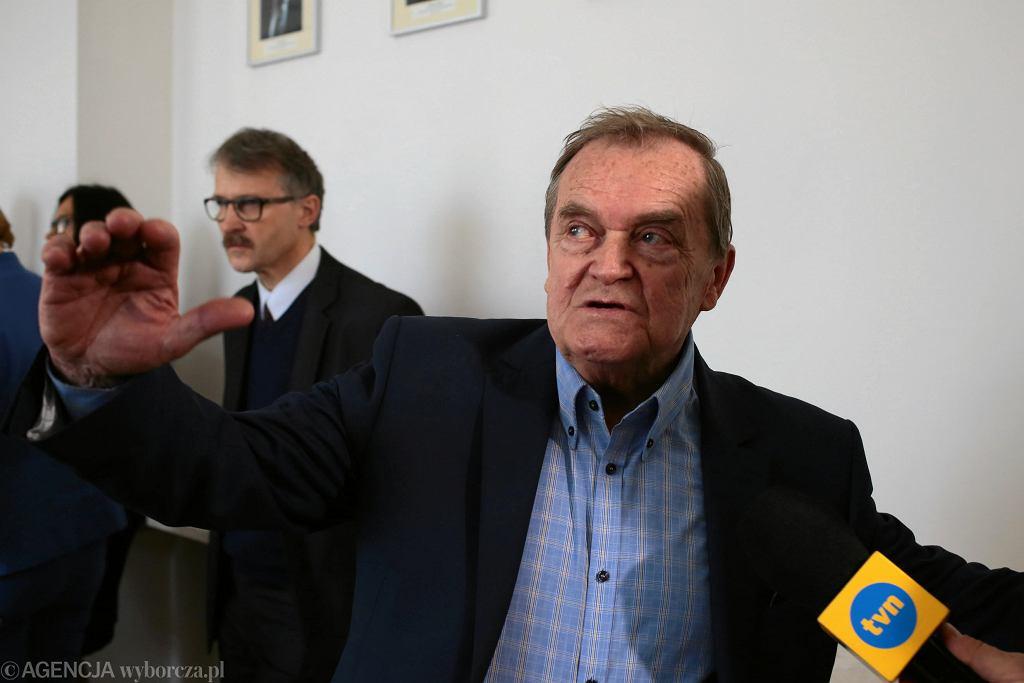 Wiceprzewodniczący KRS Wieslaw Johann